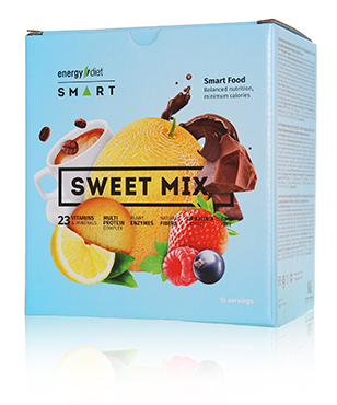 Energy Diet Smart «Sweet Mix» blue Ассорти из 5 вкусов