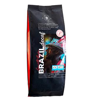 Ground coffee. BRAZIL DECAF
