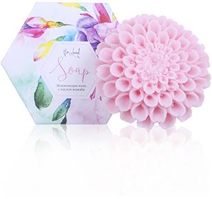 Увлажняющее мыло (хризантема розовая)