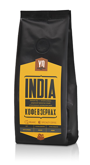 Whole-bean coffee INDIA