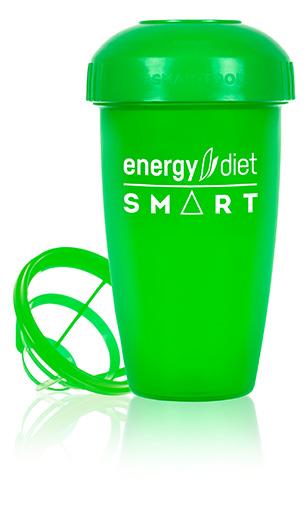 Шейкер зеленый Пластиковый стакан для приготовления Energy Diet Smart