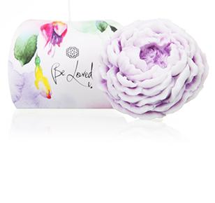 Moisturizing soap (white-lilac peony)