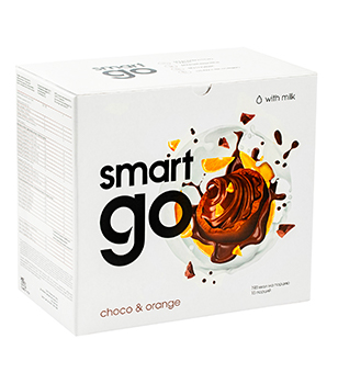 Smart GO Orange - Chocolate, 15 portions