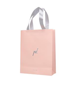 Пакет подарочный розовый (средний)