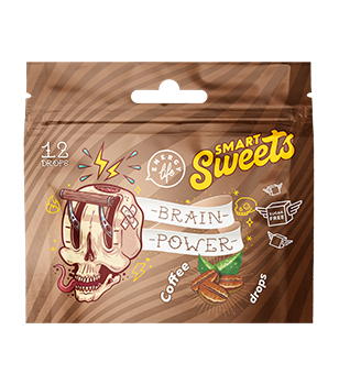 Brain power drops Functional candies