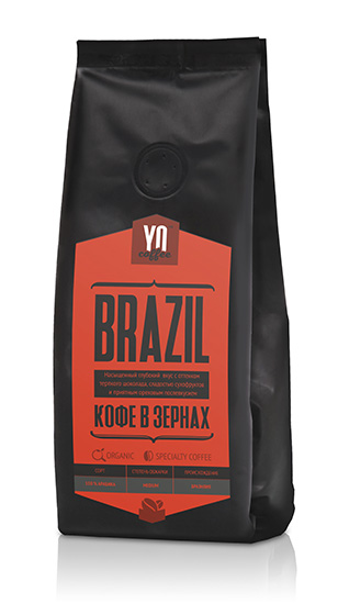 Whole-bean coffee BRAZIL