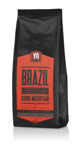 Ground coffee BRAZIL