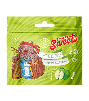 Teeth protection drops Functional candies