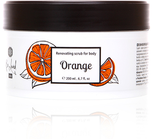 Renewing body scrub (Orange)