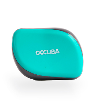 Occuba hairbrush grey-blue