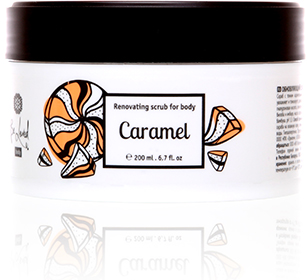 Renewing body scrub (Caramel)