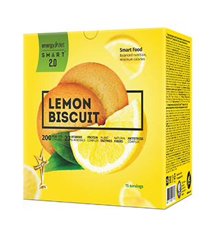Energy Diet Smart Lemon biscuit
