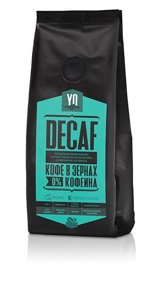 Whole-bean coffee DECAF