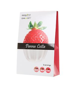 Panna cotta strawberry