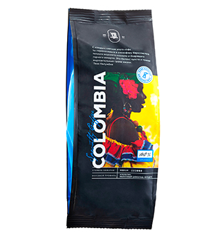 Ground coffee. COLOMBIA