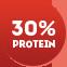 Высокое содержание белка на порцию