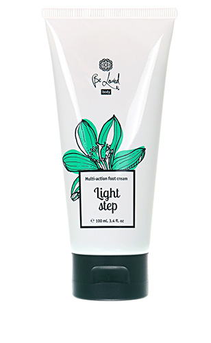 Complex action foot cream