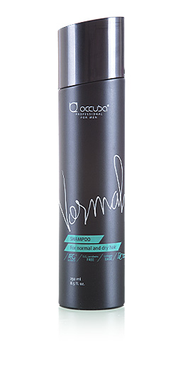 Shampoo for men. Normal