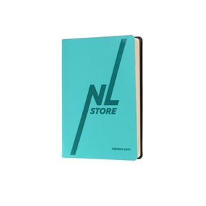 Branded daily planner turquoise