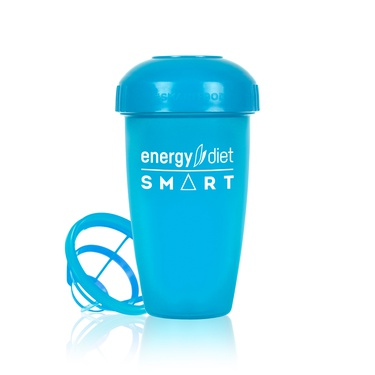 Blue shaker cup