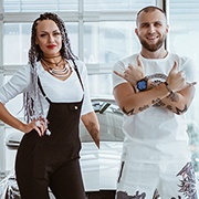 Мария и Александр Плотниковы , C-Класс