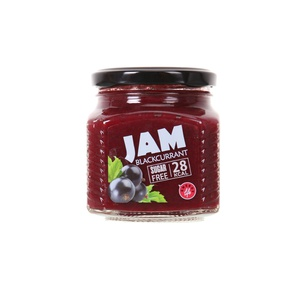 Low calorie Black currant jam