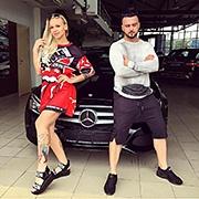Дарья Жаворонкова и Сергей Власов, C-Класс