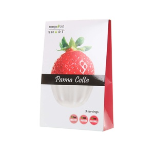 Panna cotta strawberry