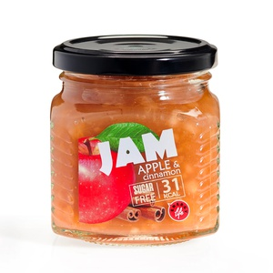 Low calorie Apple and cinnamon jam
