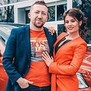 Мария и Михаил Зварыгины, GLE-Класс