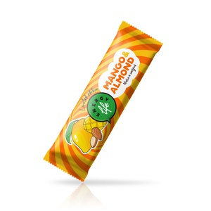 Fruit bar with mango and almond