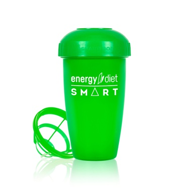 Green shaker cup