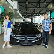 Мария и Алексей Силины, E-Класс