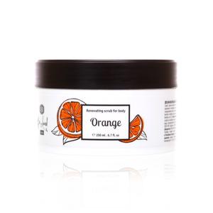 Orange (Апельсин)  тана учун янгиловчи скраб, 200 мл
