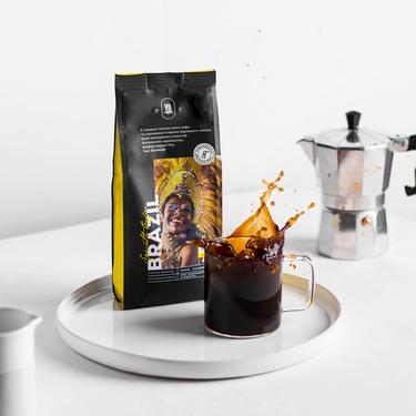 დაფქული ყავა BRAZIL
