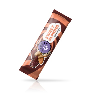 Fruit bar with dates and almond