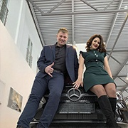 Светлана и Валерий Эзау, CLA-Класс