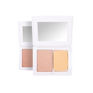 Compact aqua-powder foundation.