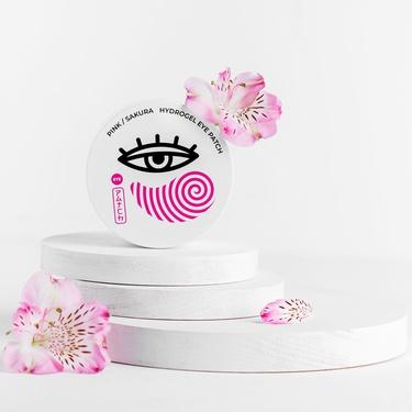 ჰიდროგელური თვალის პაჩები საკურას ექსტრაქტით