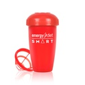 Red shaker cup