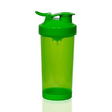 Шейкер 400 мл с клапаном, зеленый