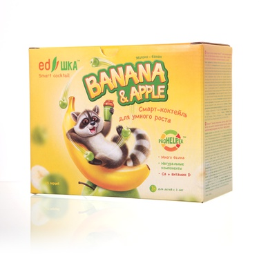 EDshka™ banana and apple