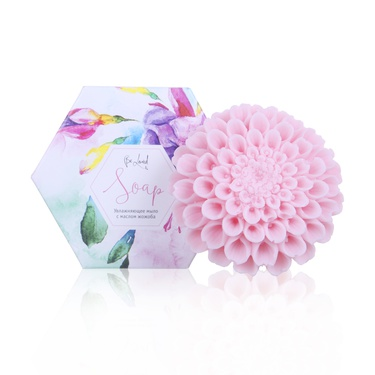 Moisturizing soap (pink chrysanthemum)