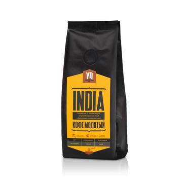 Ground coffee. INDIA