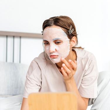 Увлажняющая биоцеллюлозная маска