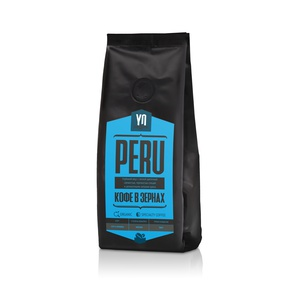 Whole-bean coffee PERU
