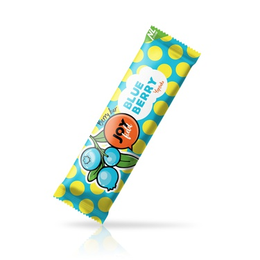Fruit bar with blueberry