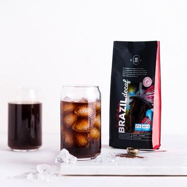 დაფქული ყავა BRAZIL DECAF