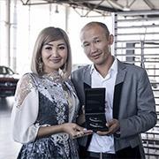 Арайлым Кошекова и Ардак Самбетбаев, C-Класс