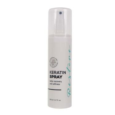 Recovering hair spray with keratin Restore Spray
